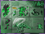 [Commission ~ CerberusLycan] Spade Reference Sheet by Keileon