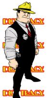Dick Tracy by BenSteamroller