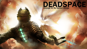 Deadspace Concept Art by Dracyster