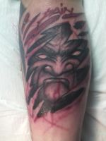 FreeHand Demon by spiglo