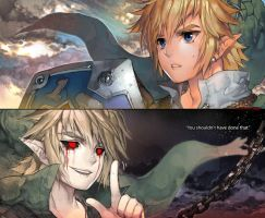 Sshhh Link you shouldnt have done that by kawacy