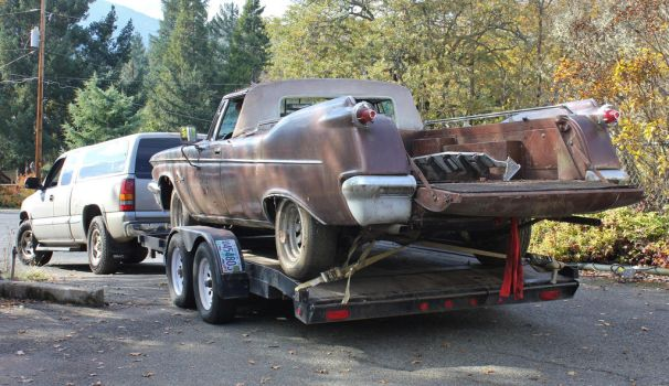 Chrysler Imperial with a tailgate by finhead4ever