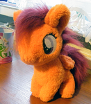 Scootaloo inspired plushie by zukori