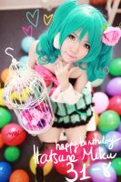 Happy birthday Hatsune Miku! by meipikachu