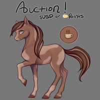 Lady Latte - Auction! [CLOSED!] by CoyoteAdopts