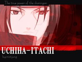 Tribute to Uchiha Itachi IV by cristijung