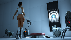 Portal 2 - Wheatley Laboratories by James--C