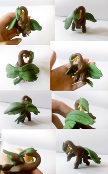 Tropius modeling clay by Weirda-s-M-art