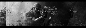 Medal of Honor - for mio - BW by Wcreates