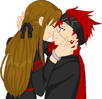 Amber and Lavi by SakeChyan