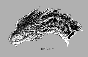 Dragon Attempt by Nsio