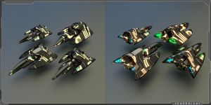 Space Fighter by PINARCI