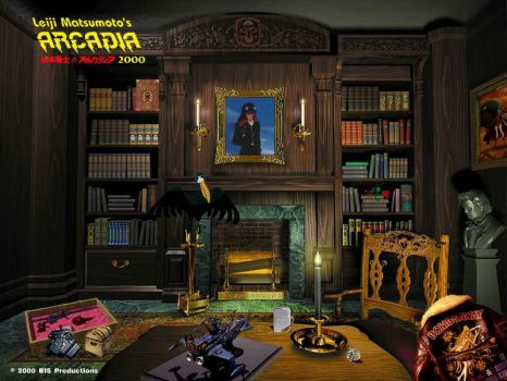 Captain Harlock's study by Bispro