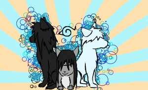 Madara, Star and Zio as cats? by Stormdeathstar9