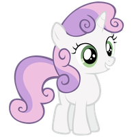 Sweetie Belle Vector by sup3rgh0st