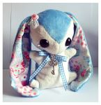 Alice - Wonderland Teacup Bunny - SOLD by tiny-tea-party