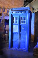The TARDIS by CharlieBlack0