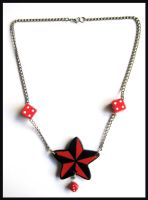 Nautical Star Necklace by cherryboop