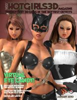 Hot Girls 3D Sexy Magazine by staceyli