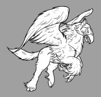 Hippogriff Lined by Toonfused