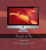 Droplet of Fire - Wallpaper Pack - by CayaStrife