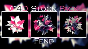 C4D Stock Pack by fendfje