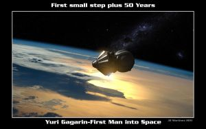 First Small Step Plus 50 Years by dragonpyper