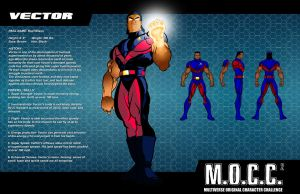 M.O.C.C. 2 Vector profile sheet by RODCOM1000