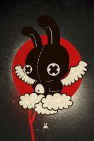 Black Bunny by daskull