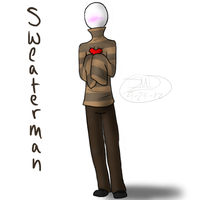 Sweaterman by RoomsInTheWalls