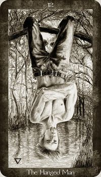 12 The Hanged Man by Ellygator
