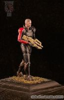 Commander Shepard resin figure by Michael-XIII
