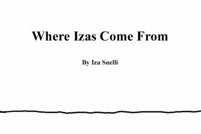Where Izas Come From -Redone- by Izabeth