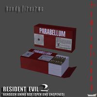Resident Evil 2 and 3 Handgun Ammo Box by DamianHandy