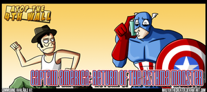 AT4W: Captain America VS Astma by MTC-Studio