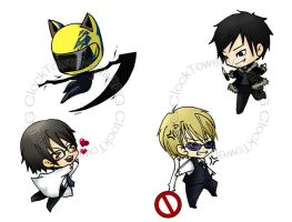 DURARARA by Clocktowernaga