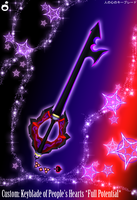 C. Keyblade K. o. People's Hearts Full Potential by Marduk-Kurios
