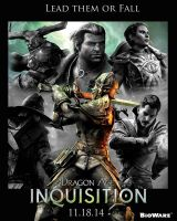 Dragon Age Inquisition Poster Contest by mpissott