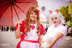 Bee and Puppycat! by wicked-amaranthine