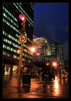 Montreal at Night 25 by Pathethic