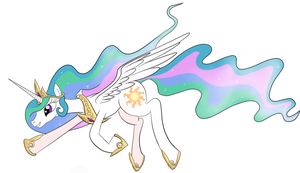 Princess Celestia by Ryouga1100