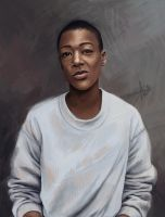 Poussey. by hobbittiponi