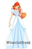 Winxclub Bloom princess dress by winxclubfreak