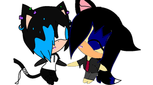 Collab with kitty :3 by lune101