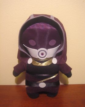mass effect tali plush, chibi style! by viciouspretty