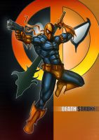 DEATHSTROKE by huzzain