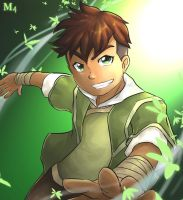Legend Of Korra - Kai the swift theif by Marini4