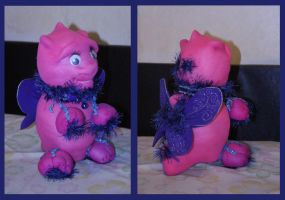 toy dragon by TinaGrey