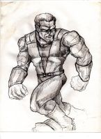 Colossus by KrisOwrey