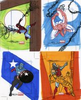 marvel Universe sketch cards34 by TomKellyART